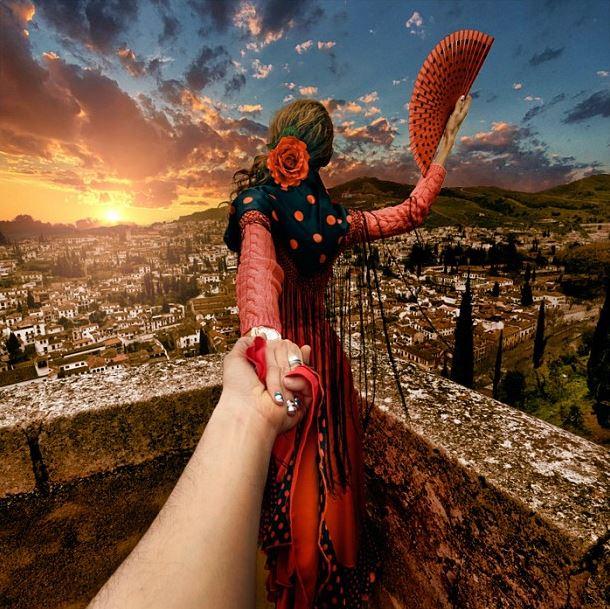Follow Me Murad Osmann on Instagram Alhambra Granada