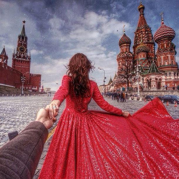 Follow Me Murad Osmann on Instagram Kremlin Moscow Russia
