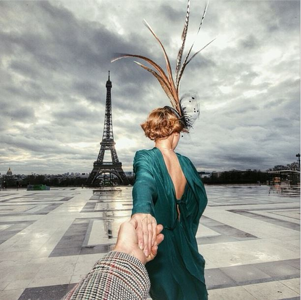 Follow Me Murad Osmann on Instagram Paris France eiffel tower