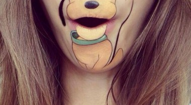 Lip Arts Lauran Jenkinson disney cartoons Pluto