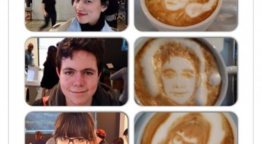 Coffee Art Selfie Michael Breach 1