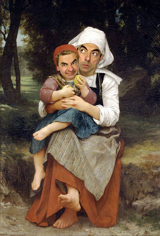 Rowan-Atkinson-Mr-Bean-Inserted-into-Famous-Paintings-5