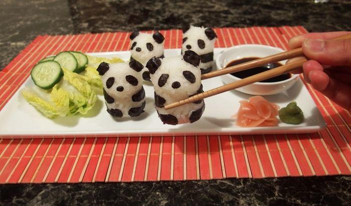 sushi-art-panda