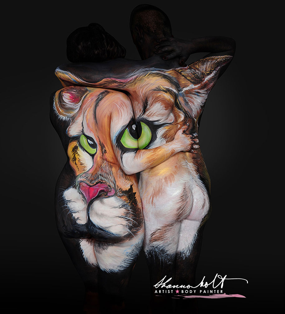 florida-wildlife-series-body-paintings-shannon-holt-30